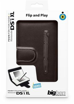 Flip & Play Protector black NDSi XL