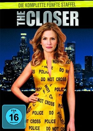 The Closer - Die komplette fünfte Staffel (4 Discs)