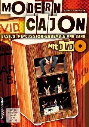 Modern Cajon, m. DVD - Philipzen, Matthias