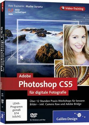 Adobe Photoshop CS5 für digitale Fotografie, DVD-ROM