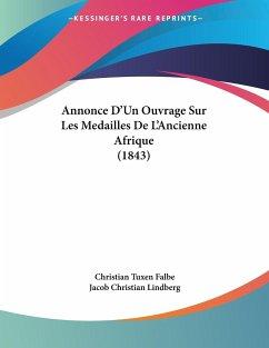 Annonce D'Un Ouvrage Sur Les Medailles De L'Ancienne Afrique (1843)