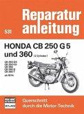 Honda CB 250 G5 und 360 (2 Zylinder) Baujahr 1974-1976
