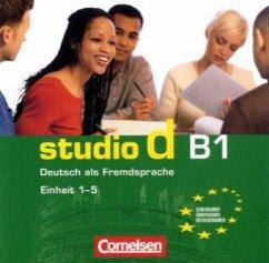 studio d B1. Deutsch als Fremdsprache. Einheit 1-5