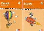 Zebra 4. Arbeitsheft Sprache, Arbeitsheft Lesen und Schreiben. 4. Schuljahr