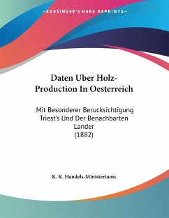 Daten Uber Holz-Production In Oesterreich
