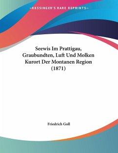 Seewis Im Prattigau, Graubundten, Luft Und Molken Kurort Der Montanen Region (1871)