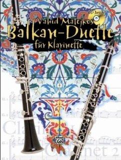 Vahid Matejkos Balkan Duette für Klarinette Buc...