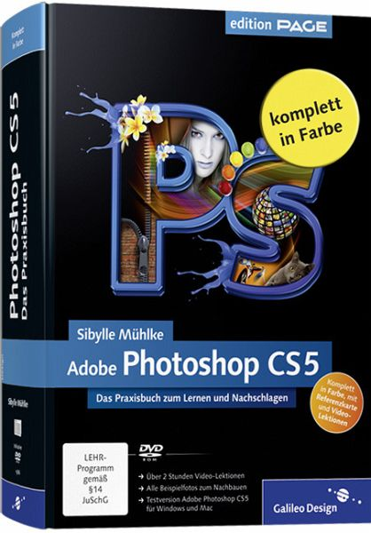 Adobe Photoshop CS5, m. DVD-ROM - Mühlke, Sibylle