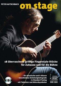 On Stage, für akustische und E-Gitarre, m. Audi...
