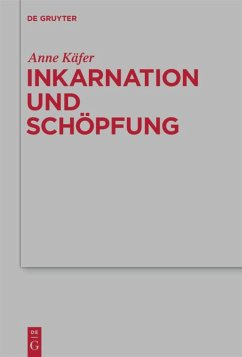 Inkarnation und Schöpfung - Käfer, Anne