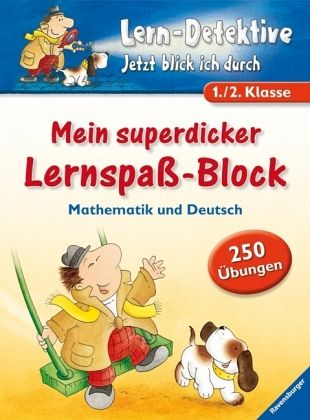 Mein superdicker Lernspaß-Block, 1./2. Klasse