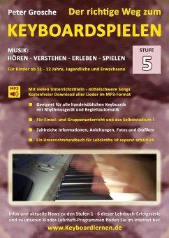 Der richtige Weg zum Keyboardspielen (Stufe-5)