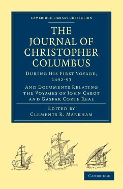 Journal of Christopher Columbus (During his First Voyage, 1492¿93)