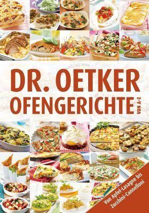 Dr. Oetker Ofengerichte von A-Z - Oetker