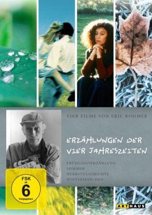 Eric Rohmer - Erzählungen der vier Jahreszeiten (4 Discs)