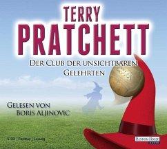Der Club der unsichtbaren Gelehrten / Scheibenwelt Bd.32 (6 Audio-CDs) - Pratchett, Terry
