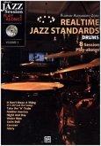 Realtime Jazz Standards - Drums, m. MP3-CD