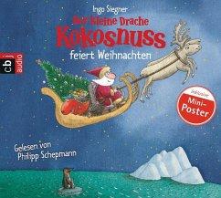 Der kleine Drache Kokosnuss feiert Weihnachten / Die Abenteuer des kleinen Drachen Kokosnuss Bd.2 (1 Audio-CD) - Siegner, Ingo
