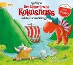 Der kleine Drache Kokosnuss und die starken Wikinger / Die Abenteuer des kleinen Drachen Kokosnuss Bd.14 (1 Audio-CD)