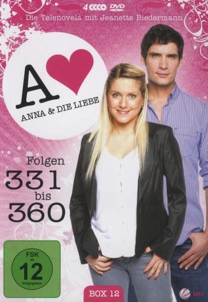 anna und die liebe box 12 folgen 331 360 4 dvds. Black Bedroom Furniture Sets. Home Design Ideas