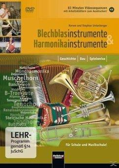 Blechblasinstrumente und Harmonikainstrumente