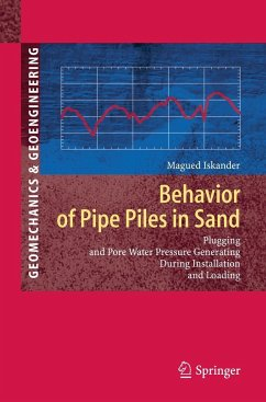 Behavior of Pipe Piles in Sand - Iskander, Magued