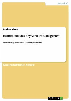 Instrumente des Key Account Management
