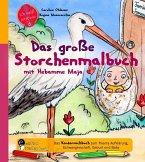 Das große Storchenmalbuch mit Hebamme Maja - Das Kindersachbuch zum Thema Aufklärung, Schwangerschaft, Geburt und Baby