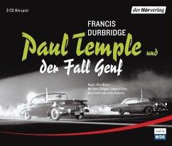 Paul Temple und der Fall Genf, 3 Audio-CDs - Durbridge, Francis