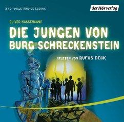 Image of Die Jungen von Burg Schreckenstein / Burg Schreckenstein Bd.1, 2 Audio-CDs