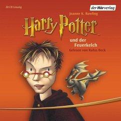 Harry Potter und der Feuerkelch / Harry Potter Bd.4 (Audio-CD) - Rowling, J. K.