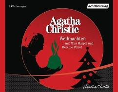 Weihnachten mit Miss Marple und Hercule Poirot, 2 Audio-CDs - Christie, Agatha