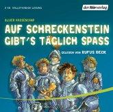 Auf Schreckenstein gibt's täglich Spaß / Burg Schreckenstein Bd.3, 3 Audio-CDs