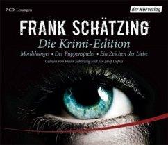 Die Krimi-Edition, 7 Audio-CDs - Schätzing, Frank