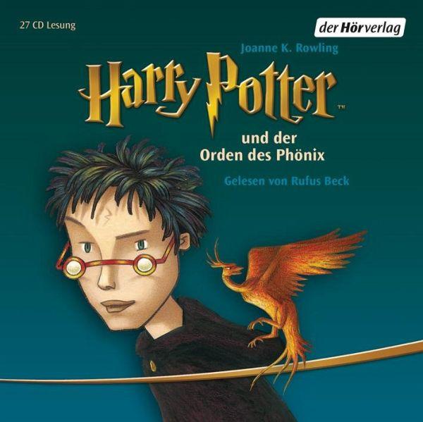 Harry Potter Und Der Orden Des Phonix Harry Potter Bd 5 Audio Cd Von J K Rowling Horbucher Portofrei Bei Bucher De