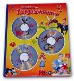 Die schönsten Tiergeschichten, m. 3 Audio-CDs