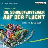 Die Schreckensteiner auf der Flucht / Burg Schreckenstein Bd.4, 3 Audio-CDs