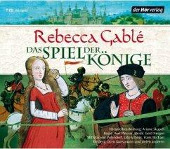 Das Spiel der Könige / Die Waringham Saga Bd.3 (7 Audio-CDs) - Gablé, Rebecca