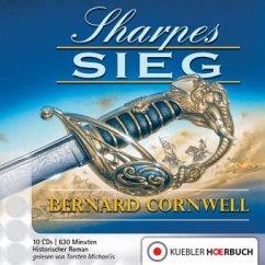 Sharpes Sieg / Richard Sharpe Bd.2 (10 Audio-CDs)