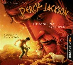 Im Bann des Zyklopen / Percy Jackson Bd.2 (4 Audio-CDs) - Riordan, Rick