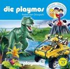Rettet den Dinopark / Die Playmos Bd.17 (1 Audio-CD)