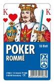 Ravensburger 27068 - Poker, Französisches Bild mit 55 Blatt, glasklares Etui