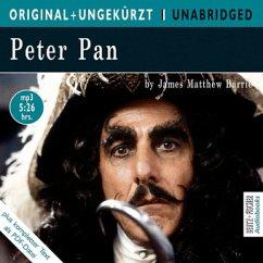 Peter Pan, English edition, 1 MP3-CD