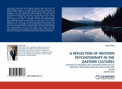 A REFLECTION OF WESTERN PSYCHOTHERAPY IN THE EASTERN CULTURES