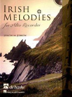 Irish Melodies for Alto Recorder, m. Audio-CD
