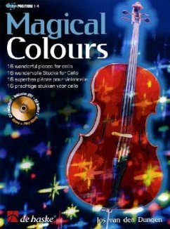 Magical Colours, für Violoncello, m. Audio-CD