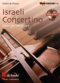 Israeli Concertino, für Violine u. Klavier, m. Audio-CD