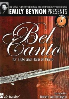 Bel Canto for Flute and Harp or Piano, m. Audio-CD