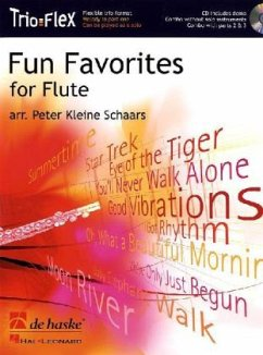 Fun Favorites for 1-3 Flutes, m. Audio-CD