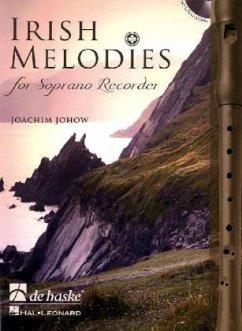 Irish Melodies for Soprano Recorder, m. Audio-CD